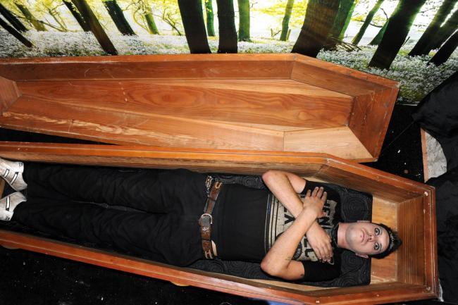 Blackburn Vampire Coffin