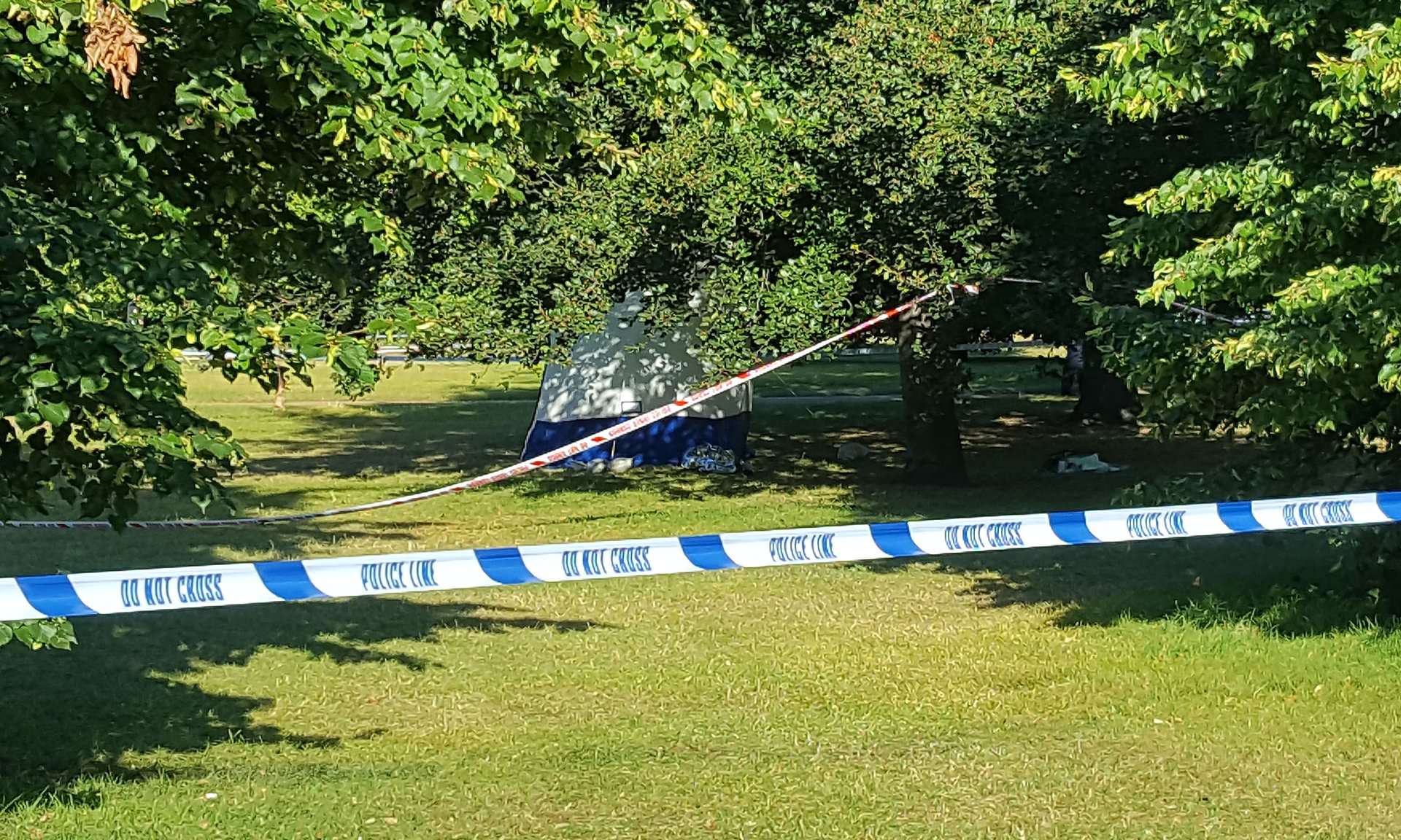Body found Hyde Park