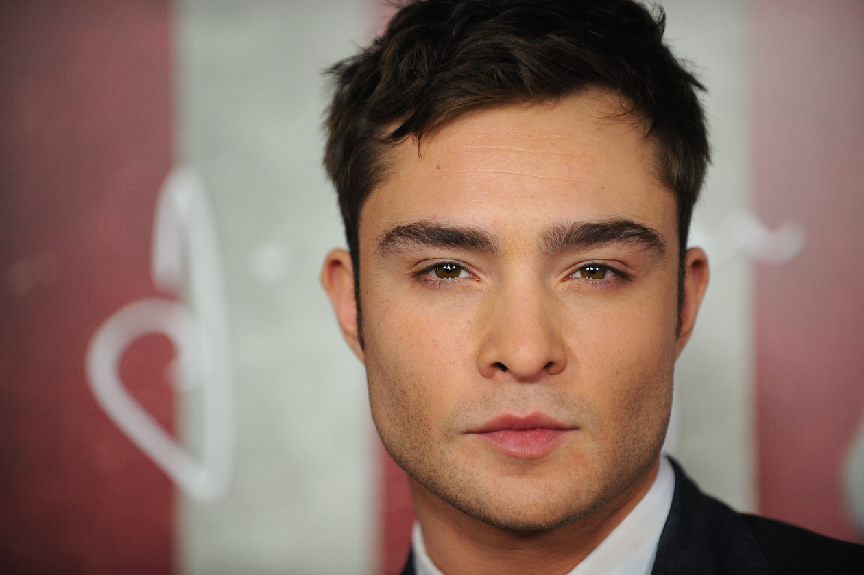 Cast member Ed Westwick arrives at the