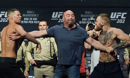 Conor McGregor Nate Diaz Dana White