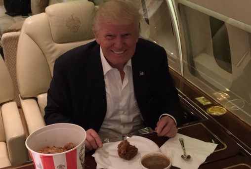 Donald Trump KFC Knife And Fork