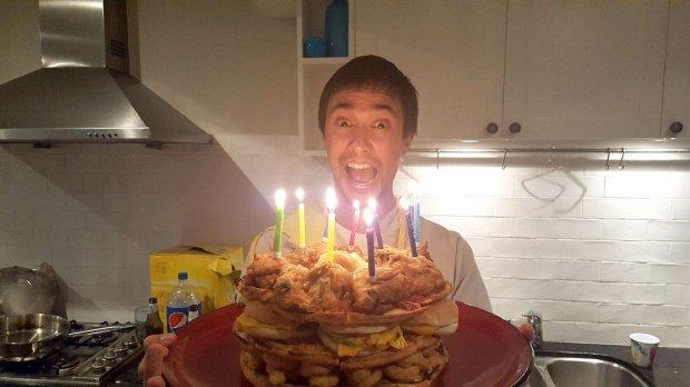 Fast Food birthday Cake 9