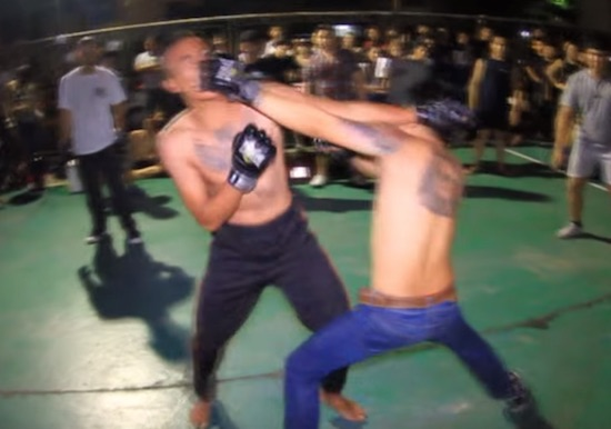 check out this brutal footage from an actual mma fight club over in thailand sick chirpse. Black Bedroom Furniture Sets. Home Design Ideas