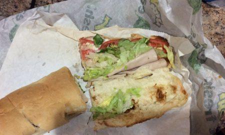 Gross subway sandwich