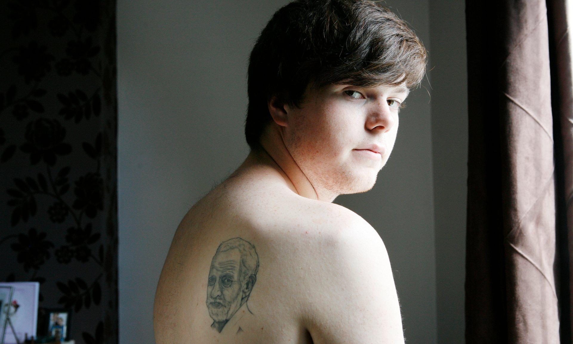 Jeremy Corbyn Tattoo 1