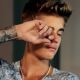 Justin Bieber crying