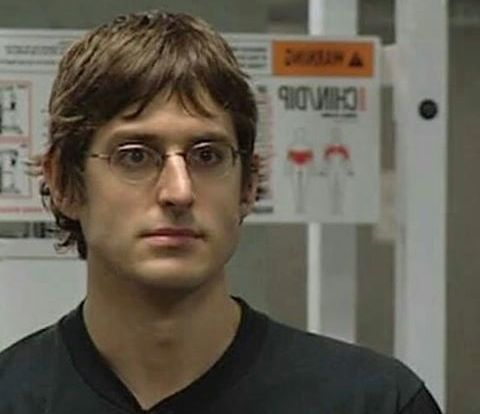 Louis Theroux stare