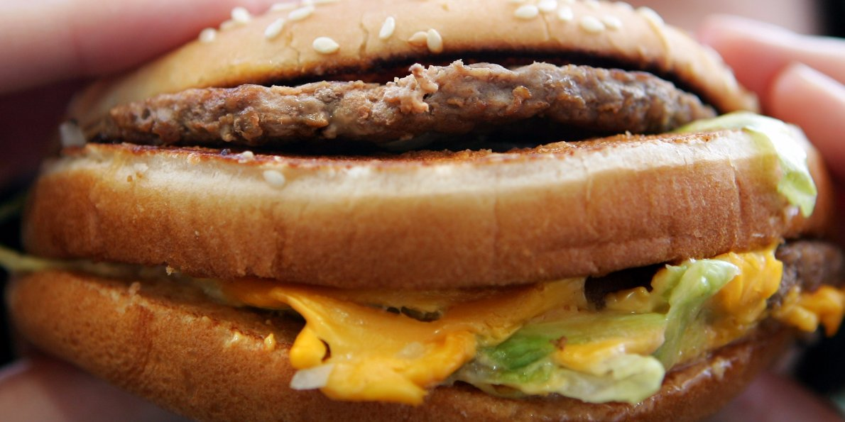Maccy d burger