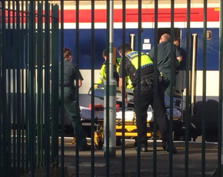 Man decapitated train