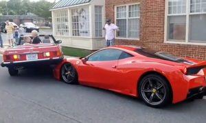 Mercedes on Ferrari