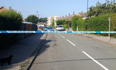 Police line London