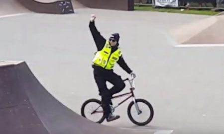 Security Guard Schools BMXer