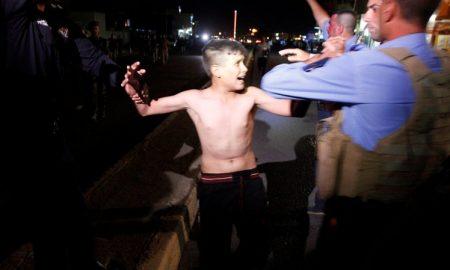 Suicide bomber boy belt