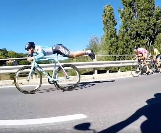 Superman Cyclist