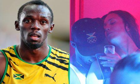 Usain Bolt mystery woman