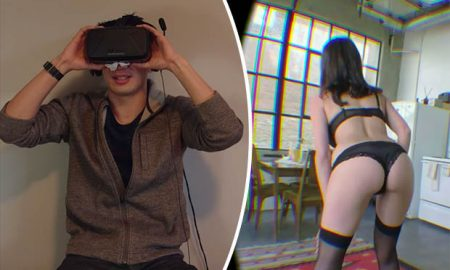 Virtual Reality Porn Prank