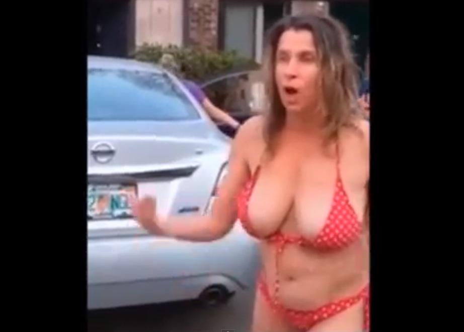 Woman nipple rant