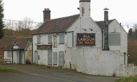 all labour in vain