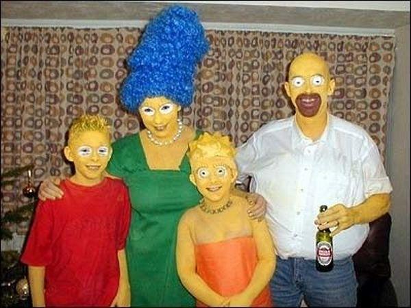 simpsons costume - Simpson Halloween Costume