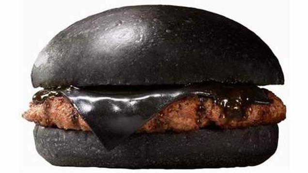 Black burger japan