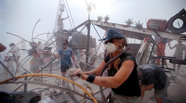 Burning Man Camp Raided