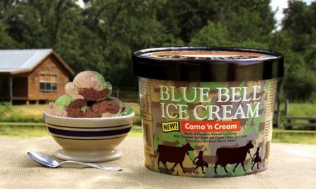 Camo ice cream