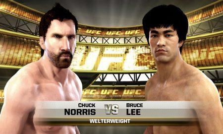 Chuck Norris Bruce Lee