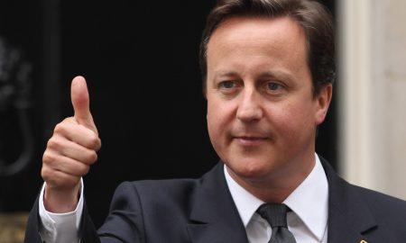 David Cameron thumbs