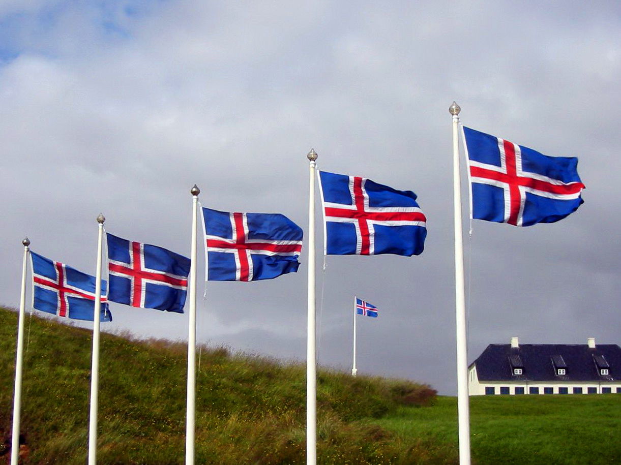 iceland-flags