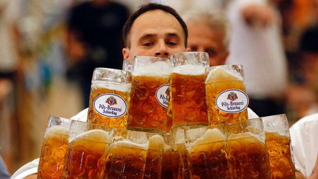 Man beer