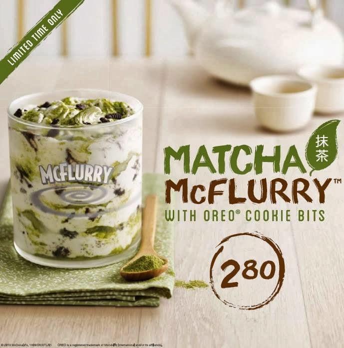 Matcha mcflurry