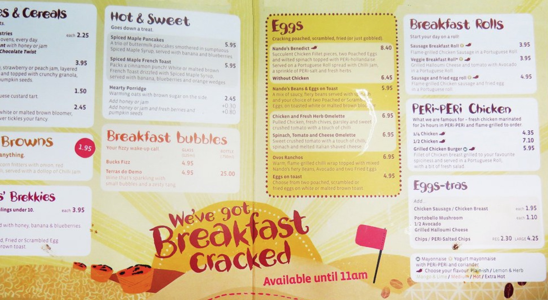 nandos-breakfast-menu