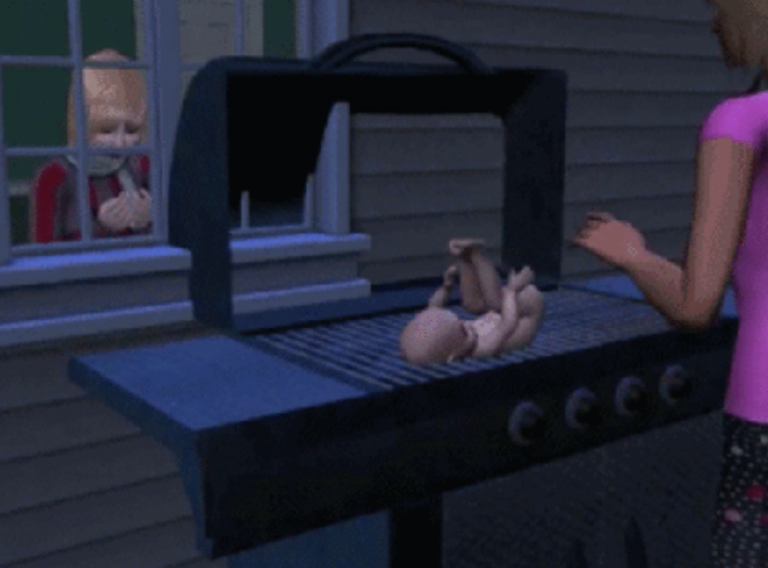 sims-baby