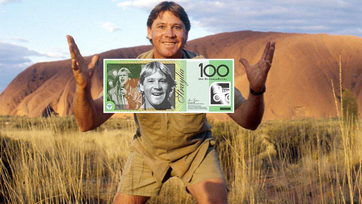 Steve Irwin Banknote