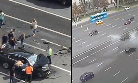 Vladimir Putin's Official Car Crash