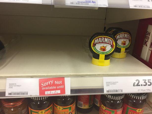 marmite-shortage