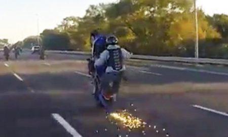 motorbike-wheelie