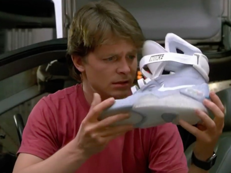 You can now buy marty mcfly s self tying shoes from back to the