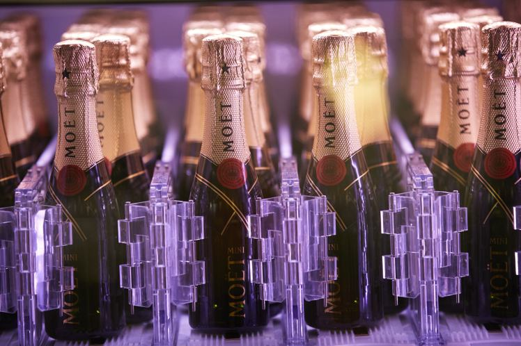 Time for a glass of bubbly? Head to  All Bar One Leicester Square for your Moet moment with a mini bottle of champagne.