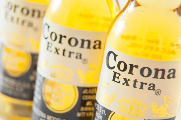 Corona Extra bottled beer - 25 Jun 2012