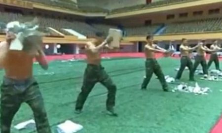 north-korean-army-training