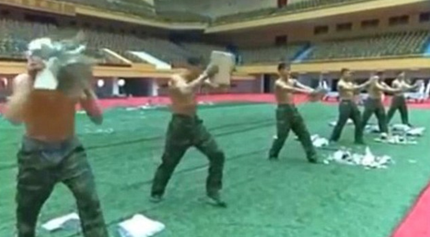 north-korean-army-training