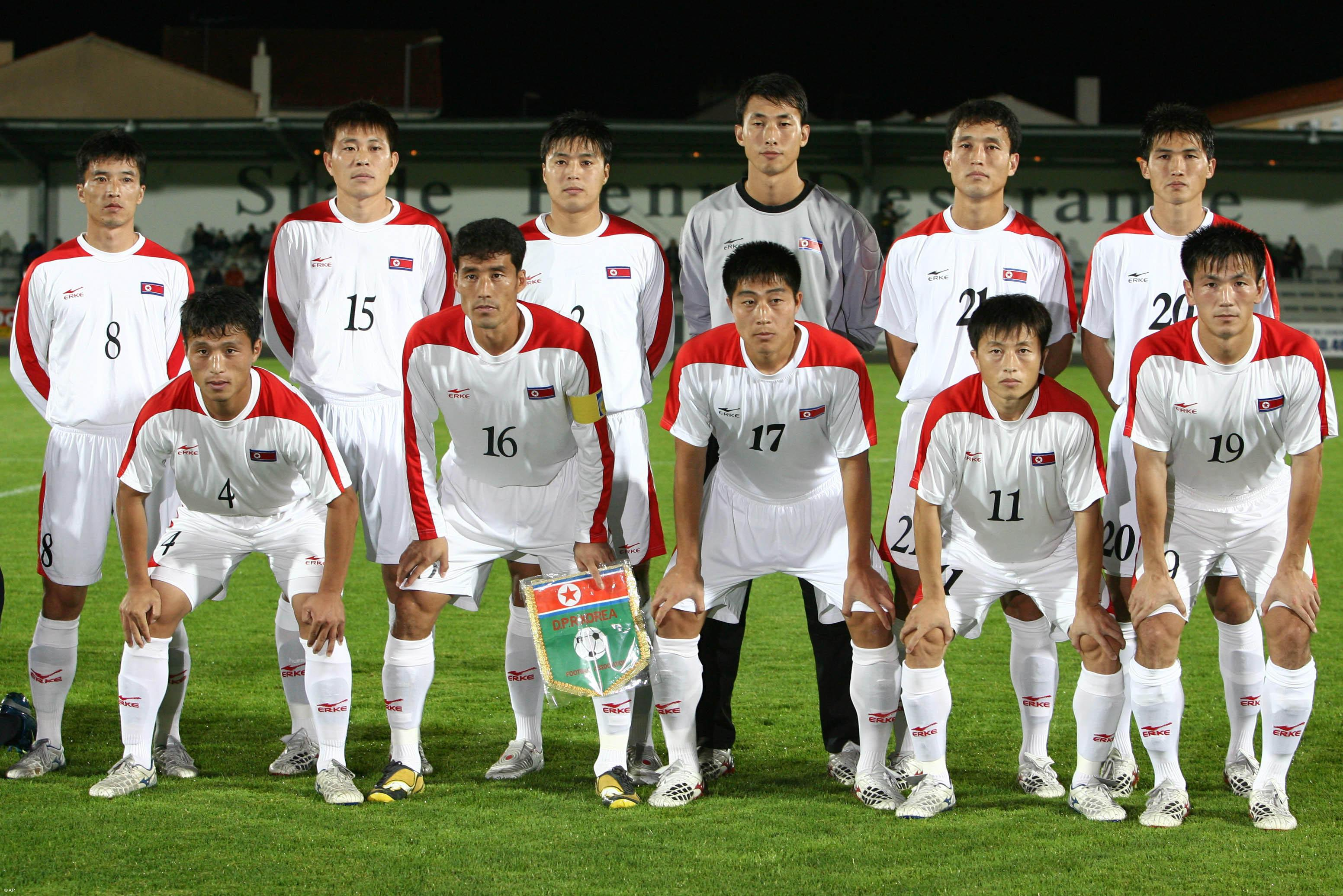 north-korean-team