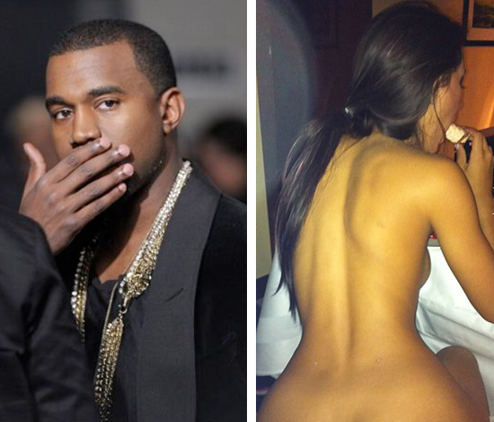 Kanye west having sex with kim kardashian