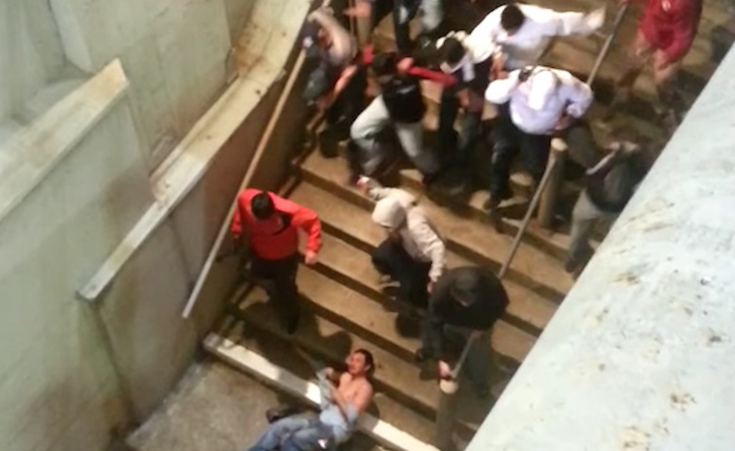 Argentina Peru Football Hooligans