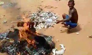 BBQ human flesh