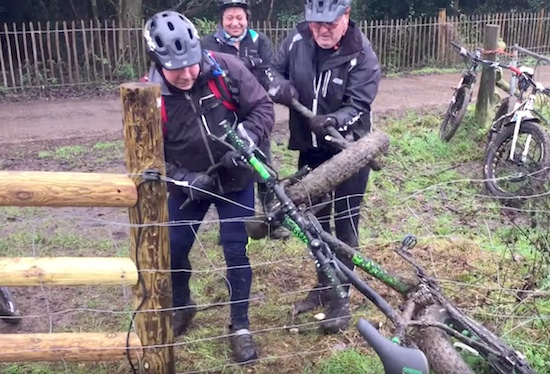 bike-tangled-electric-fence