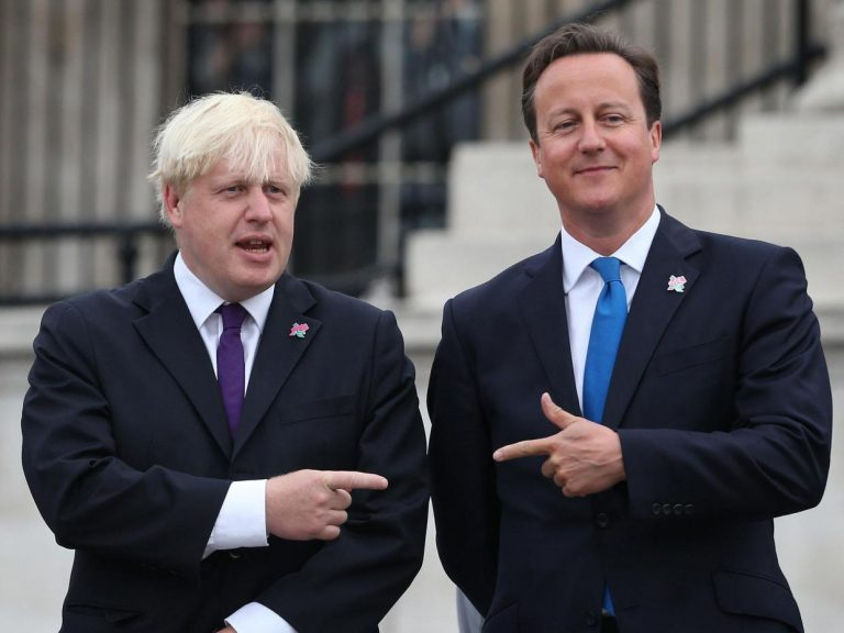 David Cameron Boris Johnson