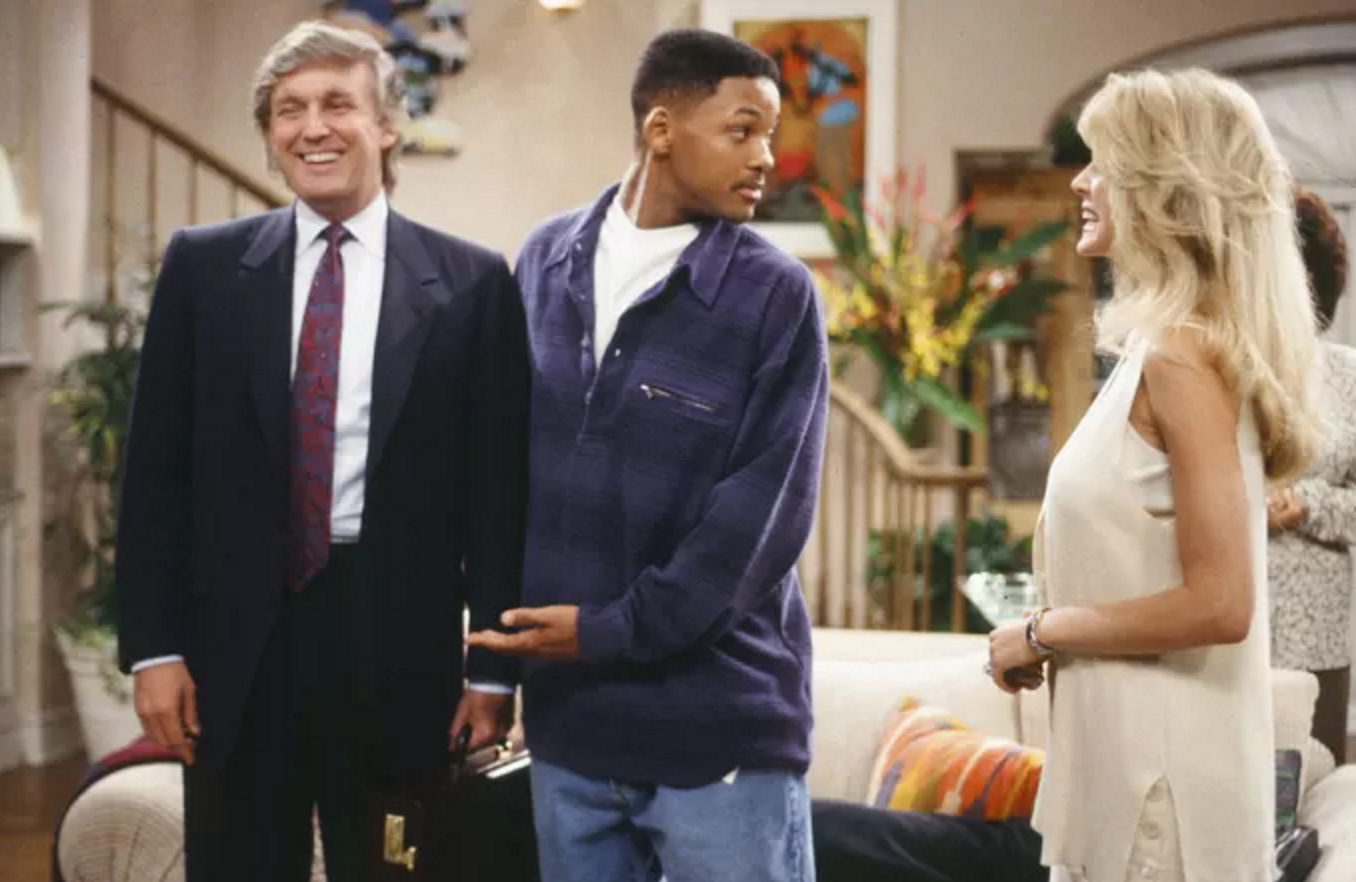 Donald Trump Fresh Prince