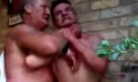 Drunk Rednecks Fighting